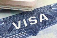 비자는 이렇게 한국 여권에 붙여서 줍니다.